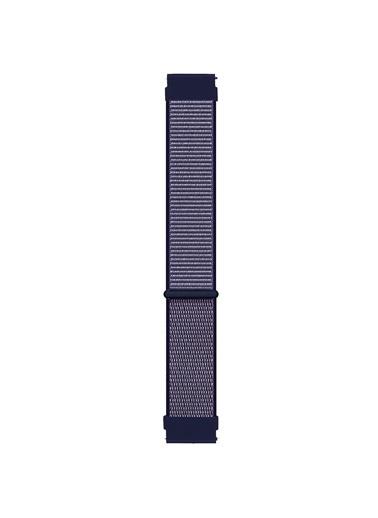 Microsonic Realme Rma207 Watch S Hasırlı Kordon Woven Sport Loop Beyaz Mor
